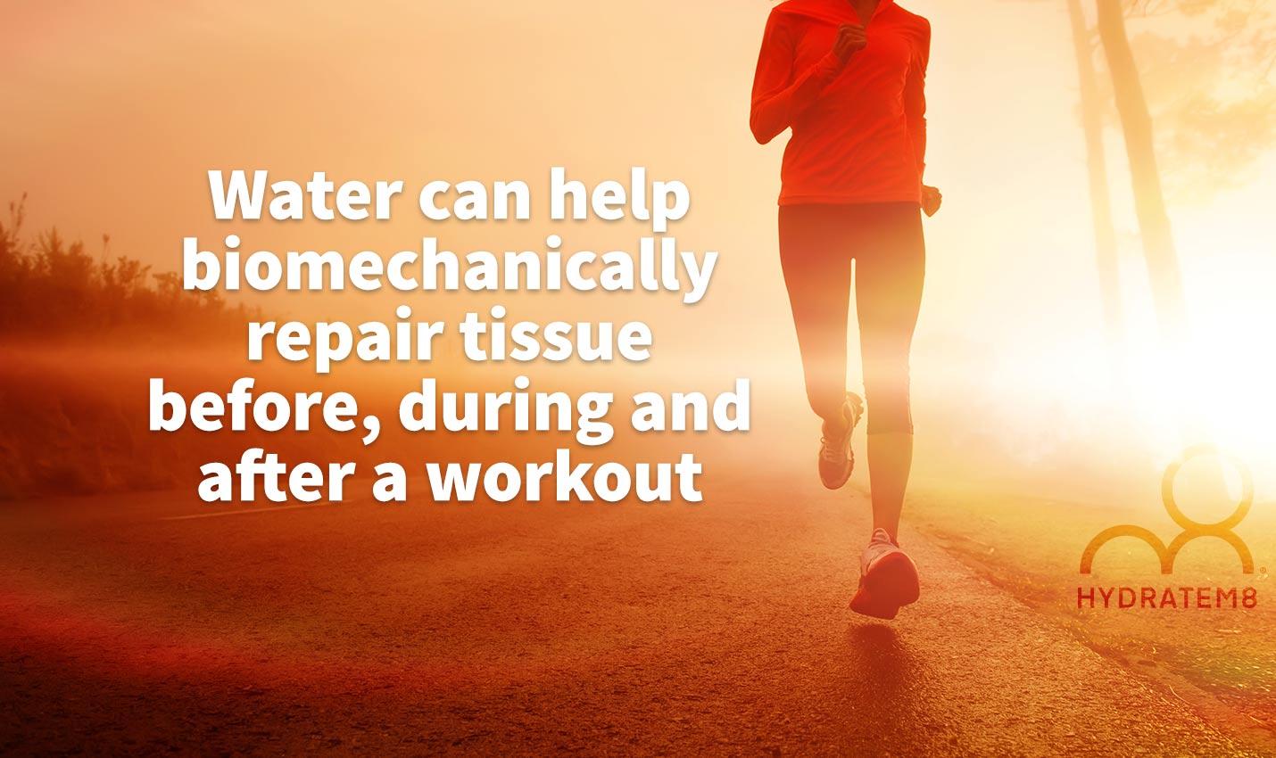 biomechanics and hydration water
