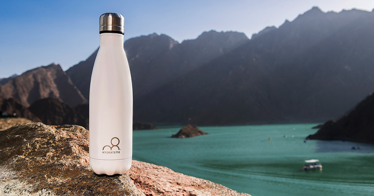 Refill and Reuse - the plastic revolution - HydrateM8