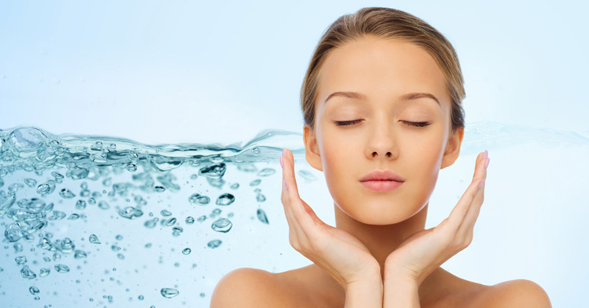Improve Your Skin by Drinking Water - HydrateM8