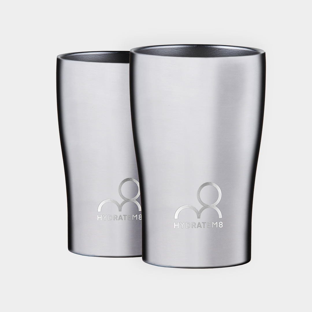 2 Stainless Steel Insulated Cups