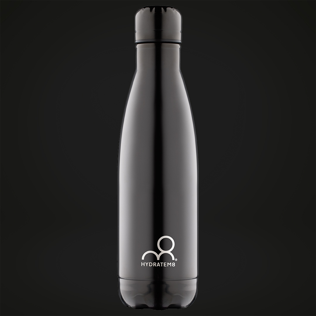 Black Ice Insulated Water Bottle 500ml