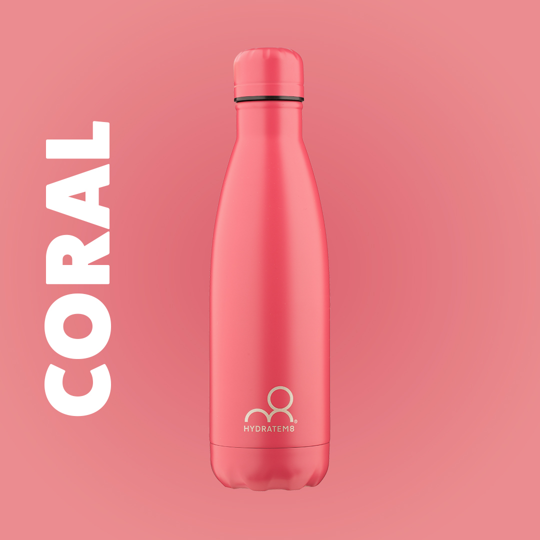 CORAL INSULATED WATER BOTTLE