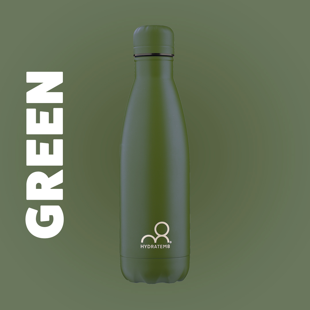 GREEN INSULATED WATER BOTTLE