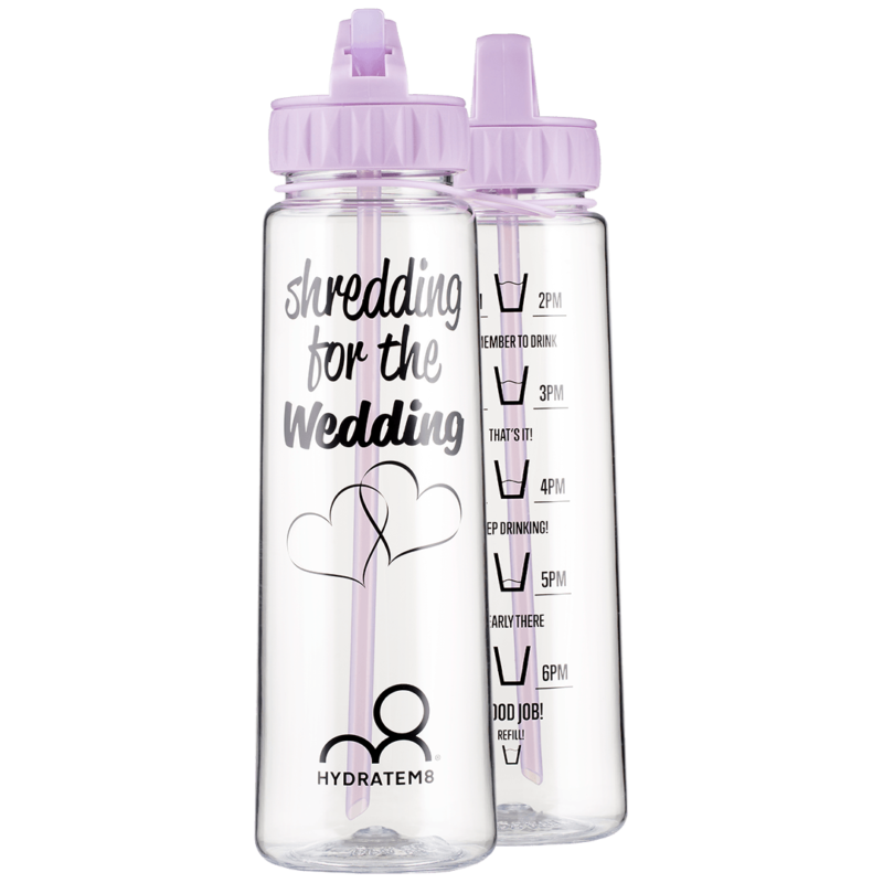 6e1ea2f0cb Lilac 900ml [Special Edition] Hydration Tracker Water Bottle – Shredding  for the wedding