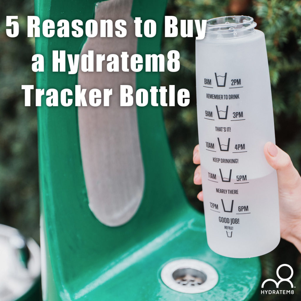 hydratem8 tracker bottle
