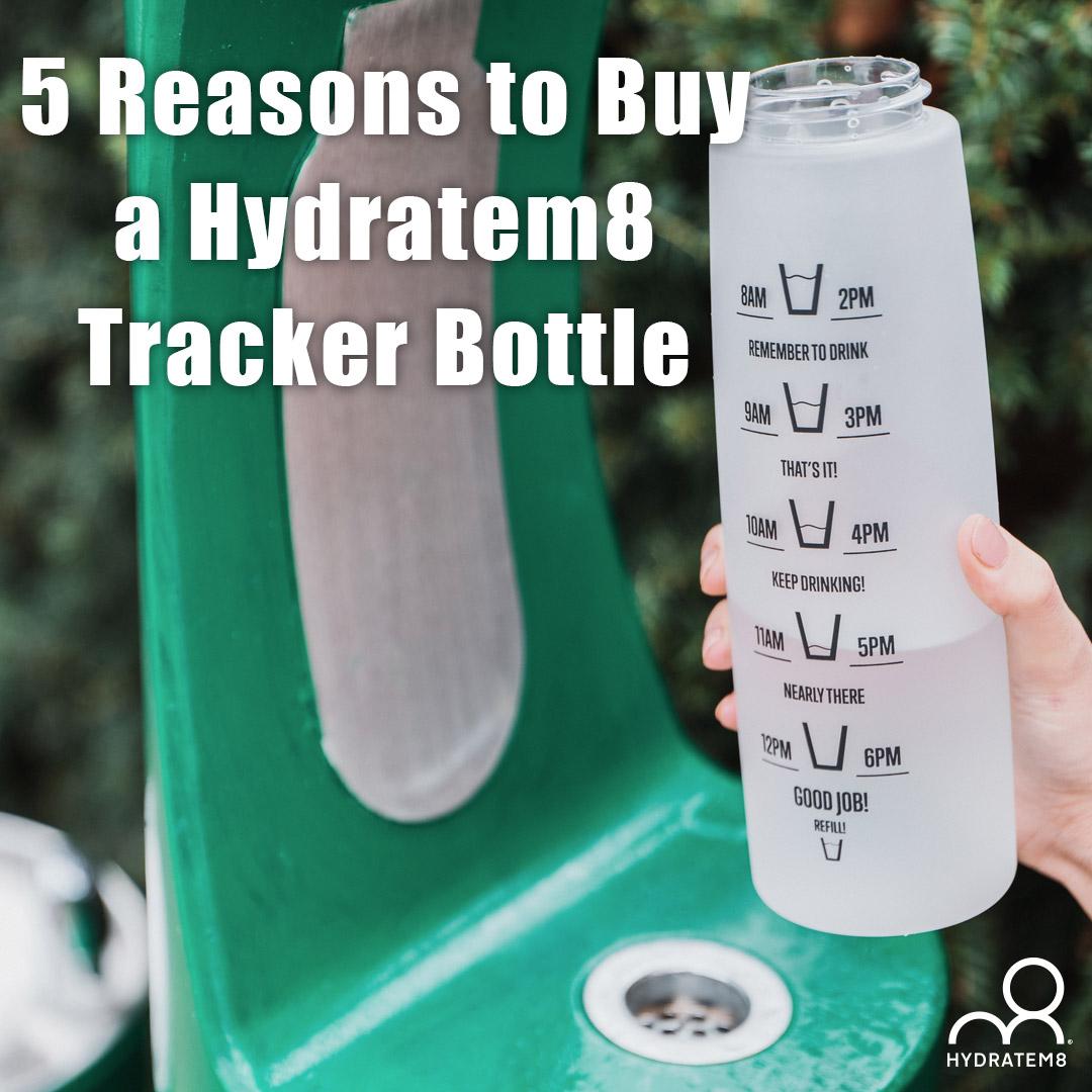 hydratem8 tracker bottle