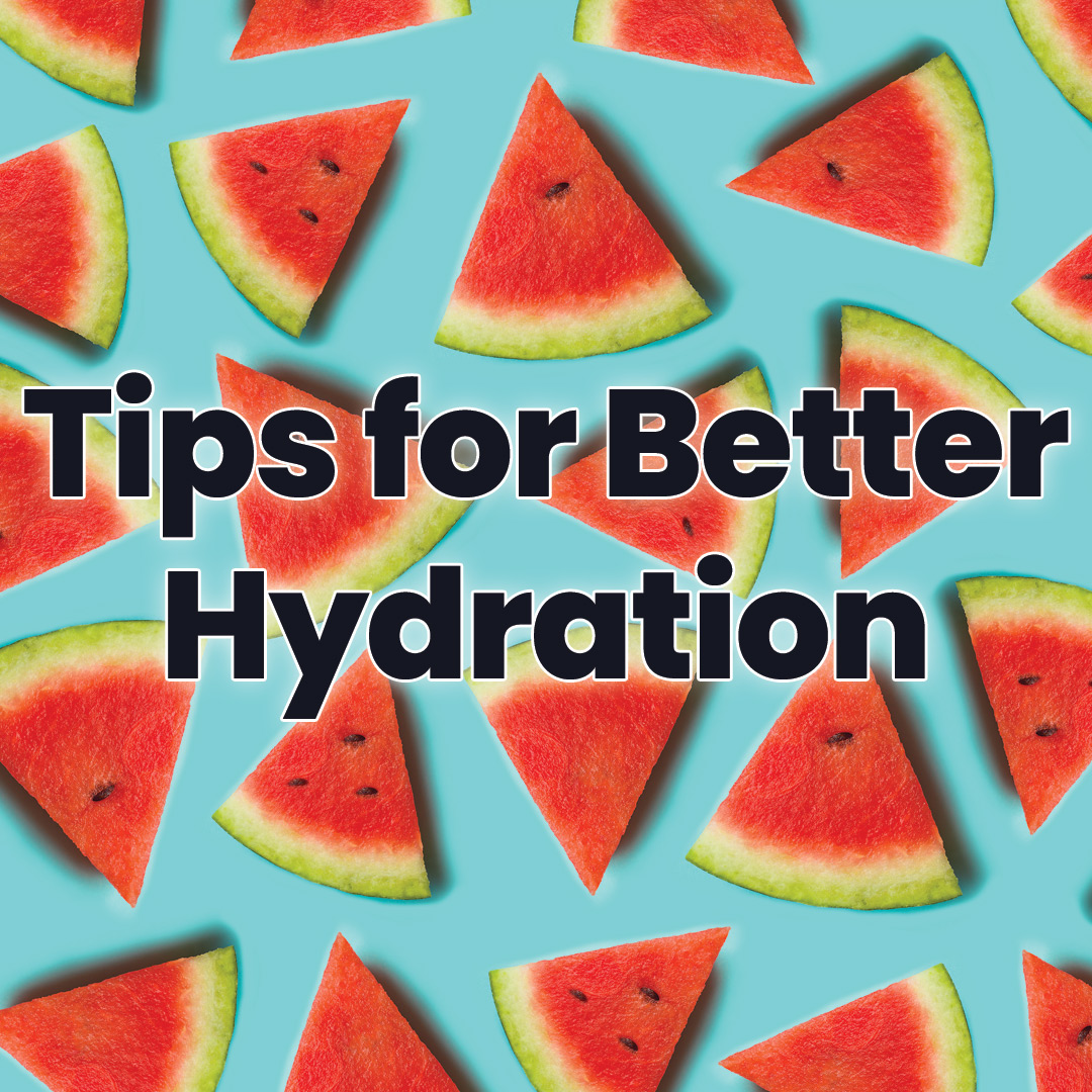better hydration