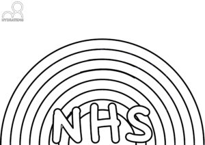 NHS Rainbow Colouring