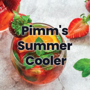 pimms summer cooler
